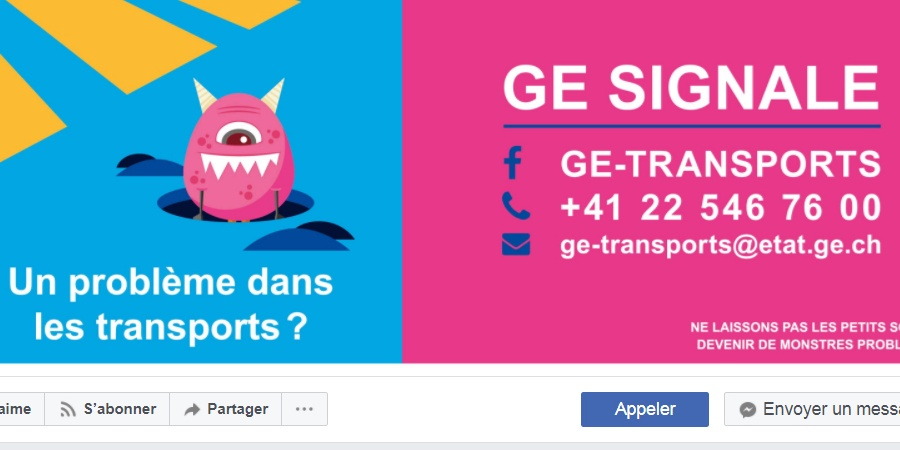 Facebook GE-transports