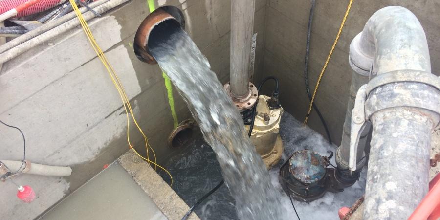 Récupération de la chaleur de l'eau avant réinjection