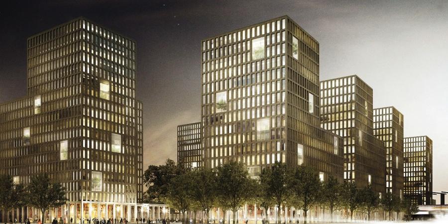 Lauréat concours architecture et espaces publics@Pont12 architecte/La Touche Verte/EDMS