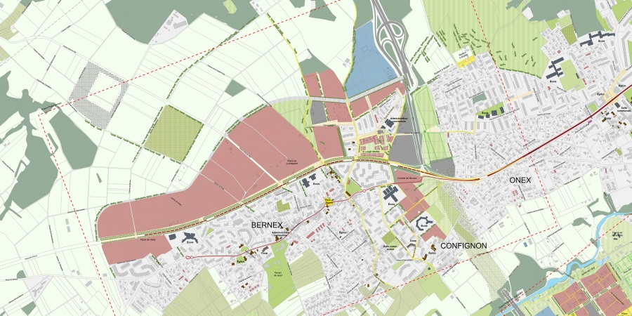 Plan guide du grand projet Bernex