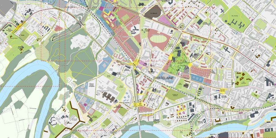 Plan guide du grand projet Châtelaine