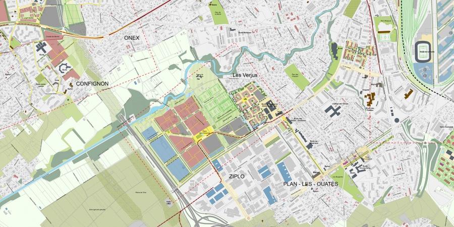 Plan guide du grand projet Cherpines