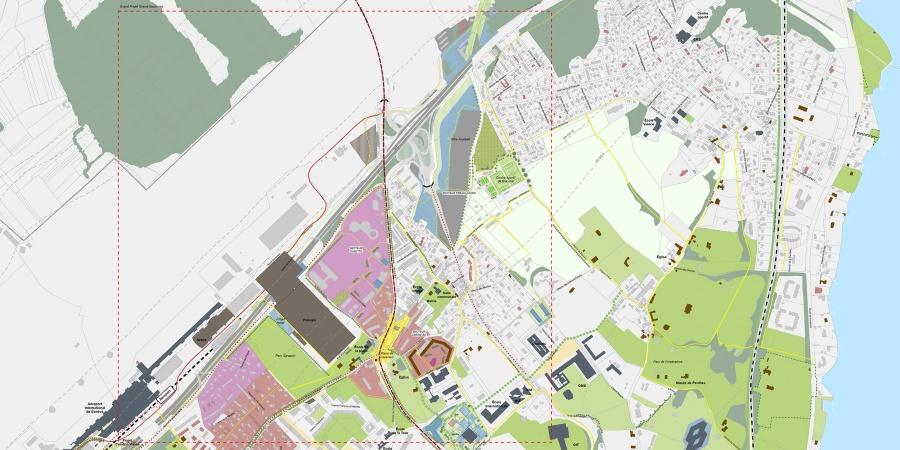 Plan guide du grand projet Grand-Saconnex