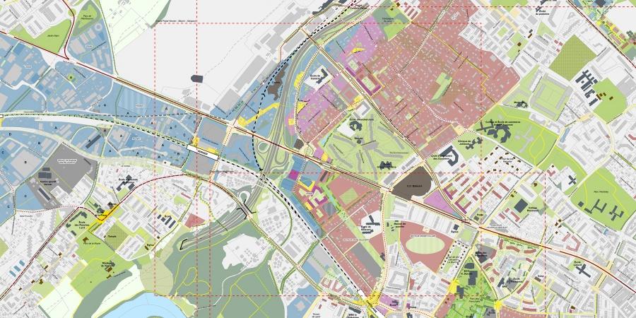 Plan guide du grand projet Vernier-Meyrin-Aéroport