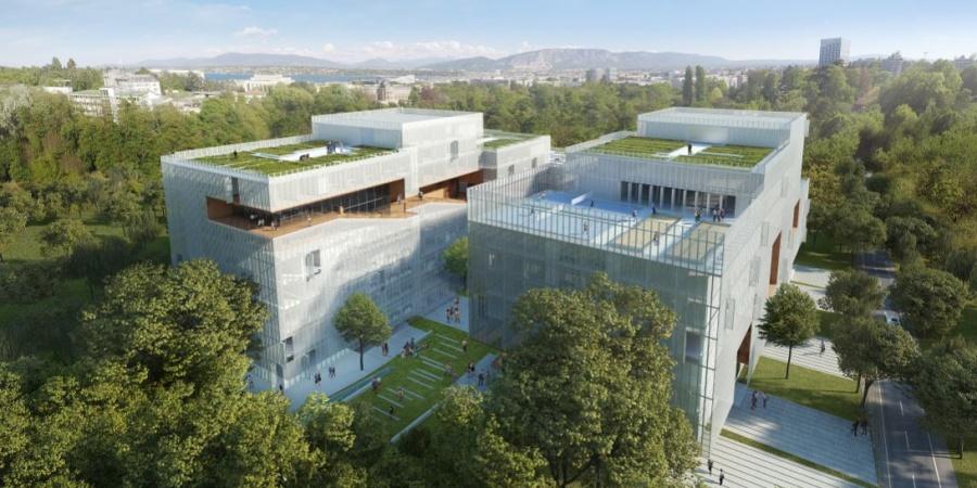 Nouvelle résidence pour étudiants - vue extérieure / © IHEID