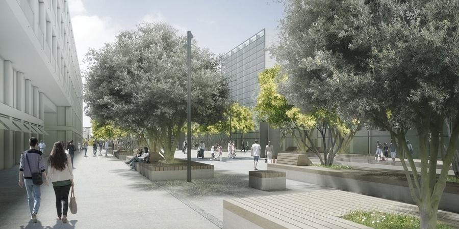 Esplanade © msv architectes/François Gschwind