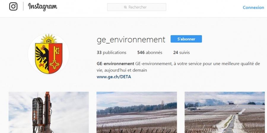 Instagram GE_environnement