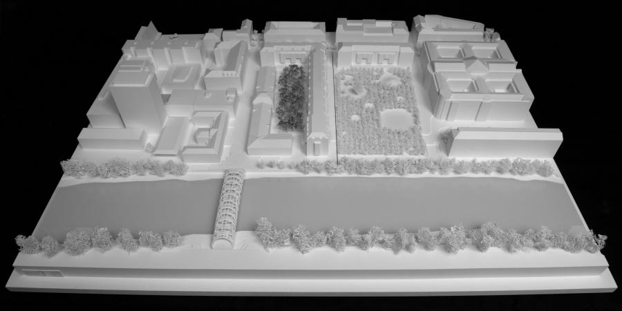 Le futur Hôtel des Archives de Genève, rue de l'Ecole-de-Médecine