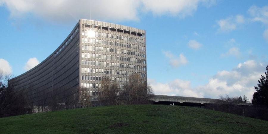 Rénovation du siège de l'OIT / Coût 1ère phase : 300 mios CHF / Réalisation 1ère phase: 2015-2010 / © OIT