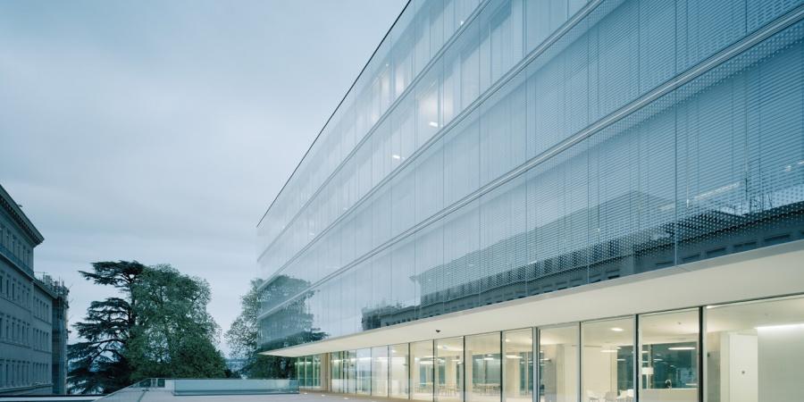 Nouveau bâtiment de l'OMC, inauguré le 30.06.2013 / Coût : 130 mio CHF / @ OMC