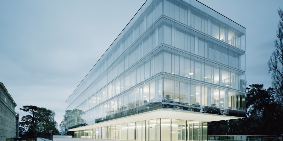 Nouveau bâtiment / © OMC