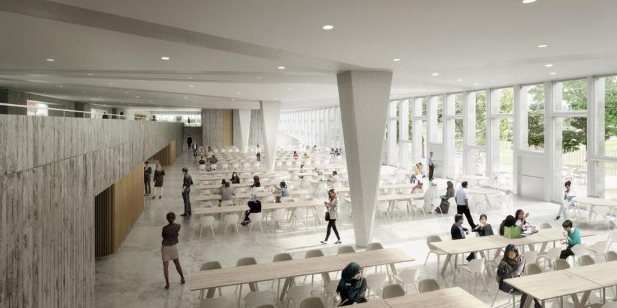 Restaurant supérieur / © OMS et BBK Architekten