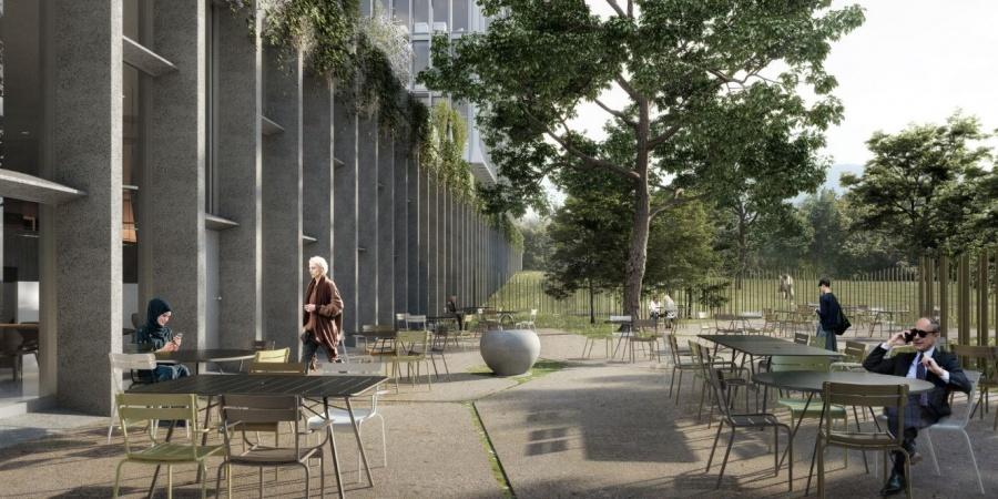 Restaurant terrasse / © OMS et BBK Architekten
