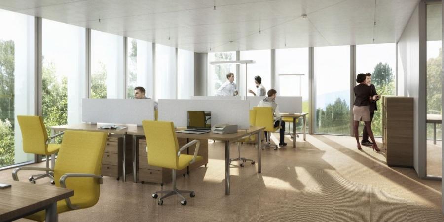 Bureaux / © OMS et BBK Architekten