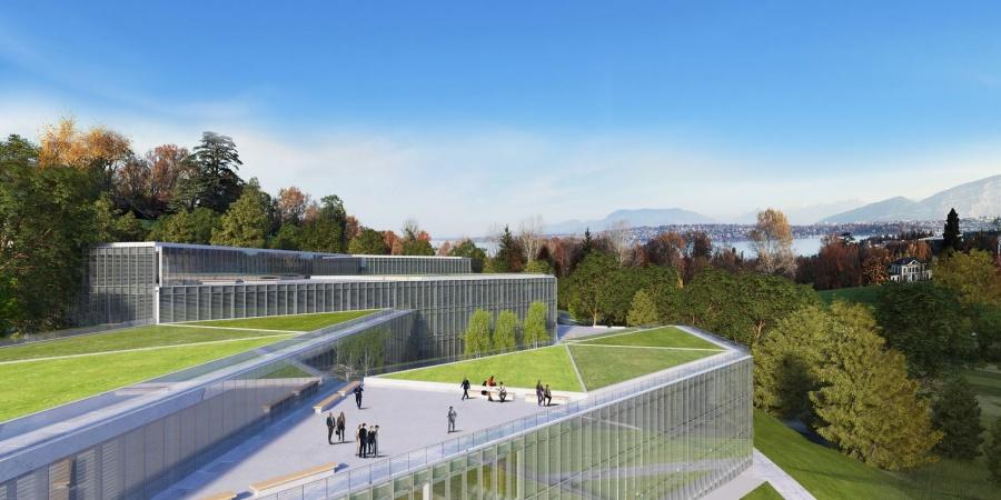 Nouveau bâtiment / © Skidmore, Owings & Merill Inc / Burckhardt + Partner SA
