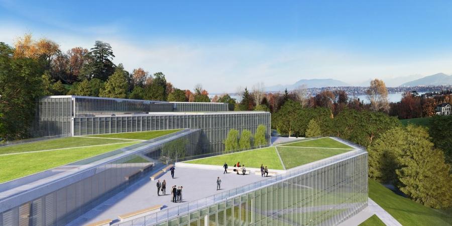 Rénovation du Palais des Nations et nouveau bâtiment de l'ONUG / Coût: 836.5 mio CHF / Réalisation: 2017-2023 / © ONU et SOM/BP