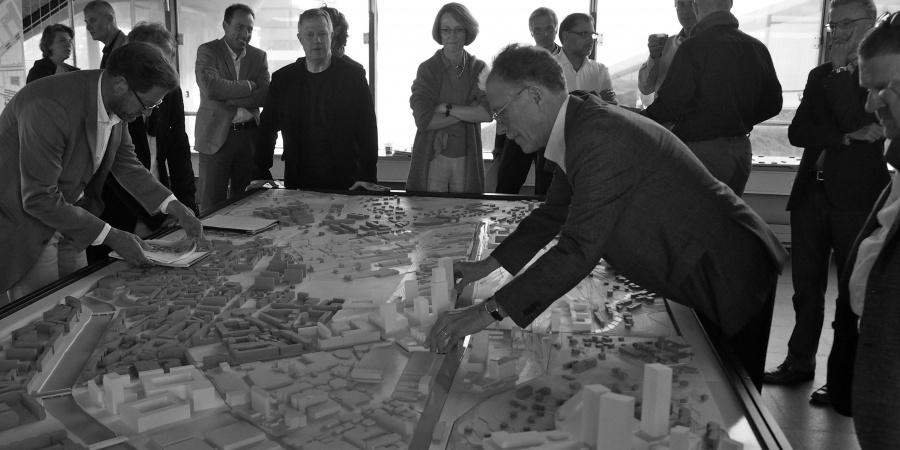 Maquette du projet PAV © Etat de Genève
