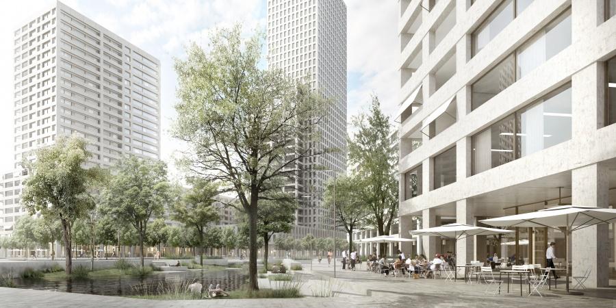 Place de l'Etoile © Dupraz & Byrne