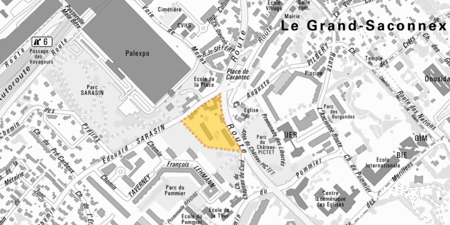 Localisation du projet