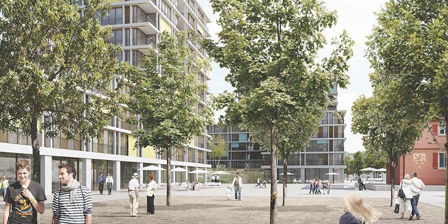 Projet lauréat Serpentine - Place de Carantec © group 8 + Hager Partner AG