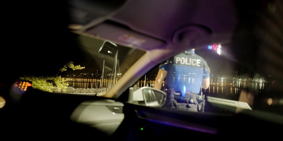 Police secours la nuit