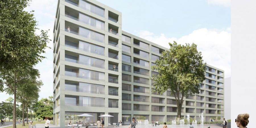 Nouveau bâtiment de la Fondation Terra & Casa - vue extérieure / © Bonnard Woeffray Architectes