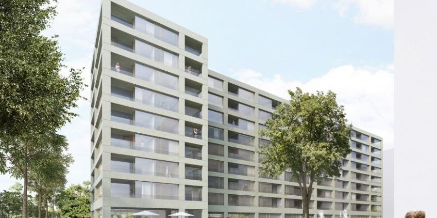 Nouveau bâtiment de la fondation Terra et Casa  / Coût du projet : 35 mio CHF / Réalisation : 20219-2021 / © BW Architectes