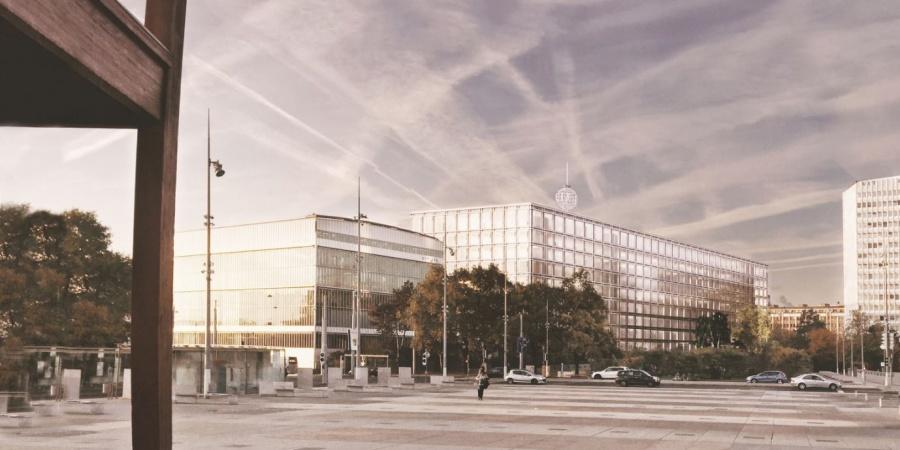 Extérieur du nouveau bâtiment / © UIT
