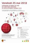 Programme de la cérémonie - concours du développement durable