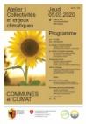 """Programme atelier """"collectivités et enjeux climatiques"""""""