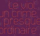 lettre sur un fond violet le viol un crime presque ordinaire