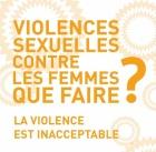 texte en jaune violences sexuelles contre les femmes