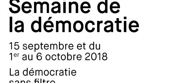 Semaine de la démocratie 2018