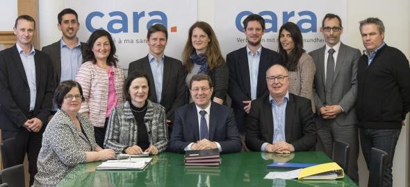 Création de l'association Cara pour le développement du dossier électronique du patient de Suisse occidentale