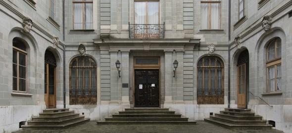 L'hôtel Sellon, siège du musée de la Fondaion Zoubov
