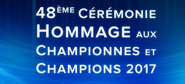 48e cérémonie de l'hommage aux championnes et champions