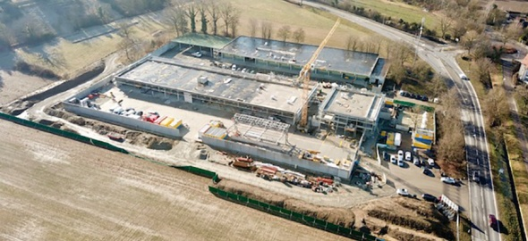 centre de logistique civile et militaire d'Aire-la-Ville