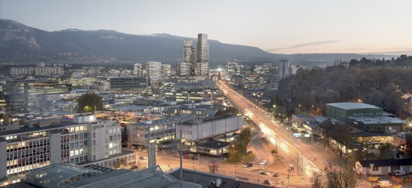 Le futur quartier de l'Etoile © Dupraz & Byrne