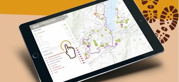 Carte interactive du terroir et de la nature