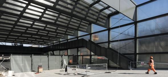 La future gare des Eaux-Vives  (© CEVA)