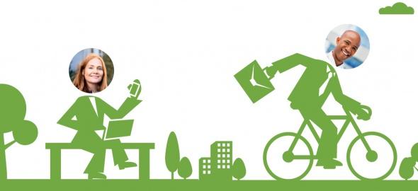 Usagers des entreprises de la voie verte
