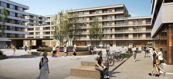 Esplanade centrale@Atelier Bonnet architectes