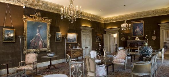 Le grand salon. Photothèque du Musée d'art et d'histoire de Genève (MAH)