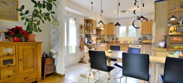 La cuisine d'une maison