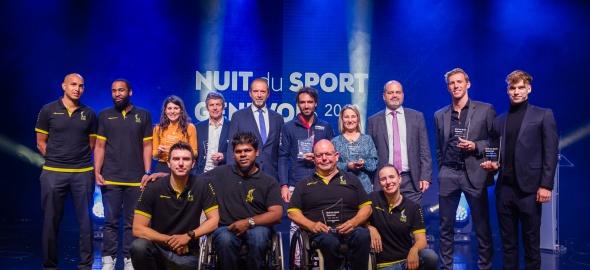 Lauréat.e.s 2019 de la Nuit du sport genevois
