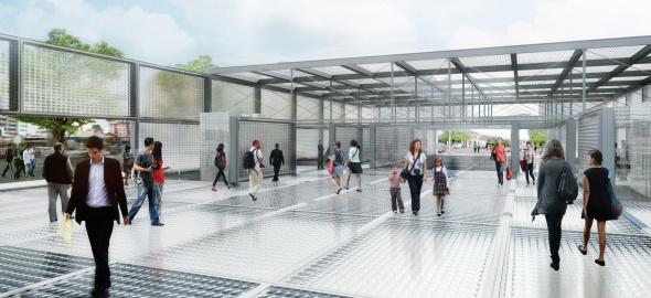 Gare Léman Express de Chêne-Bourg