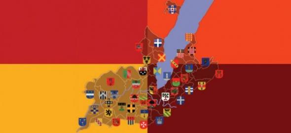 Carte des communes genevoises