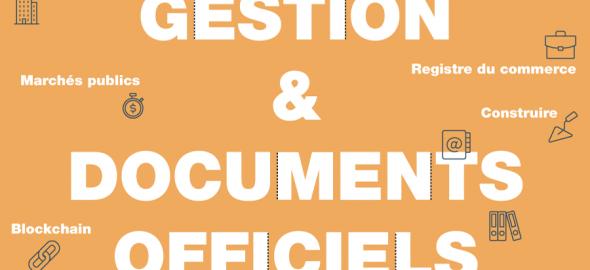 Gestion & documents officiels