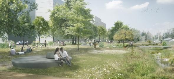 Parc des Charrotons © Archigraphie