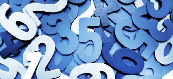 Annuaire chiffres bleus